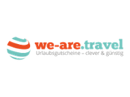 We are travel logo